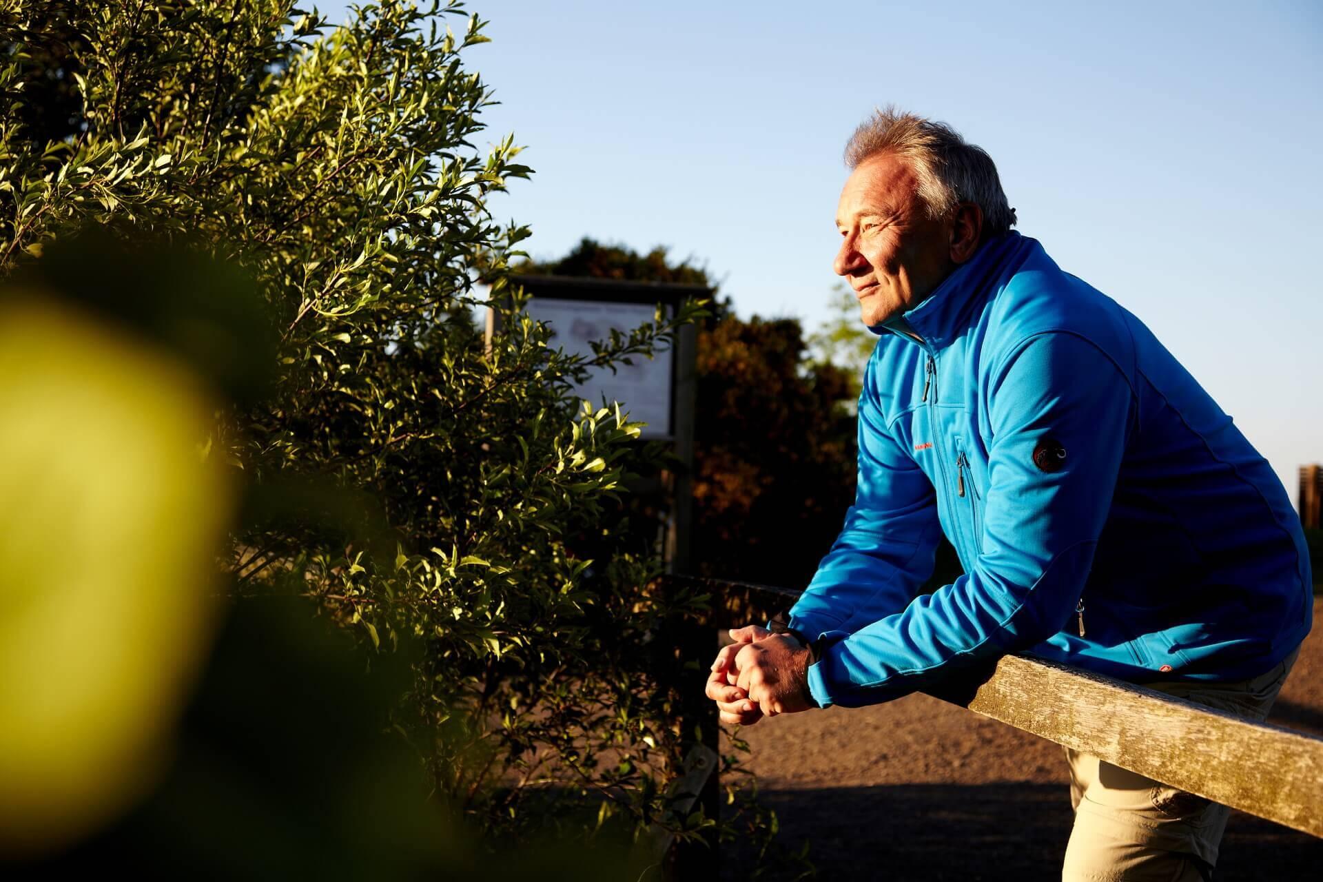 Ihr Gesundheitswanderführer Winfried Balzert
